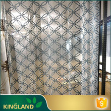 High end Hot New Product New design striped day curtains