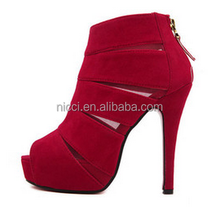 New Open Toe Women Ladies High Heel Shoes Stiletto Shoes
