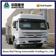 Safe 6x4 300HP sinotruk howo tractor truck comfortable with air conditioner