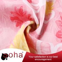 210d oxford bird eye fleece material 100% poly fabric
