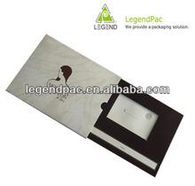 luxury popular card jewelry packaging