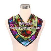 BG80472 real silk scarves 2015 women cat