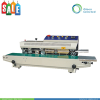 CE Approval high efficiency Continuous Band center sealing machine