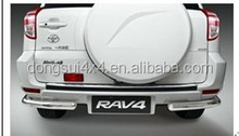 stainless steel rav4 accessories, stainless steel bars, rav4 exterior rear guard accessories