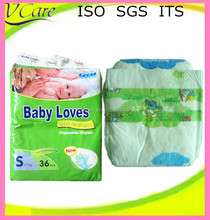 quick absorbtion and dry high quality dsposable sleepy baby diaper with economical price