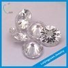 High quality round white synthetic cubic zirconia stone