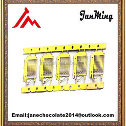 High precision customized PCB connector lead frames/terminals