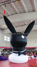 Giant inflatable holiday rabbit cartoon character model