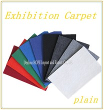 celebrity red carpet plain surface exhibition carpet importes in China