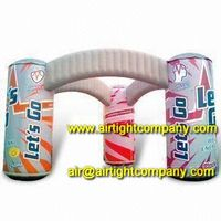 Giant Inflatable Bottle Arch/Gantry/Entrance, Brand Inflatable Advertising