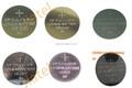 3V CR2032 LIMO2 CR2450 CR1220 CR2477 CR2430 batería de litio de la célula del botón