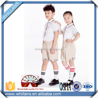 latest new design kindergarten uniform