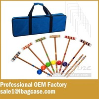 Best Custom Polyester Carrying Case For Croquet Set