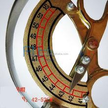 42 - 52 cm chapéu de bronze sob medida ferramenta de dimensionamento ferramenta circunferência Cap régua de costura régua