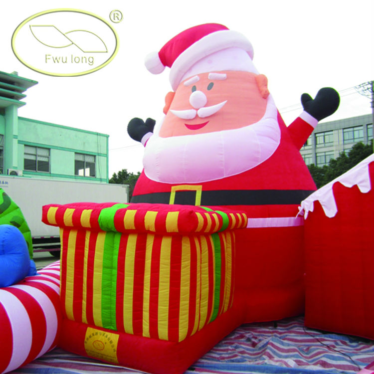 Inflatable santa claus for christmas buy