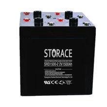 Industrial Storage Battery 2v 1500ah SLA battery with battery vents (SRD1500-2)