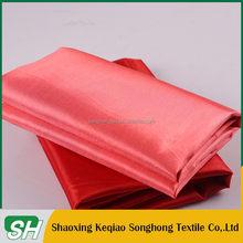 China suministrar buena calidad micro 230 T tafetán forro de tela en stock