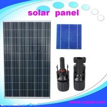 CE best price per watt solar panels for 5W to 295W