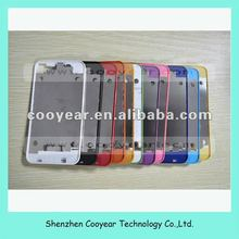 color replacement back cover bezel frame for iphone 4 paypal is accepted