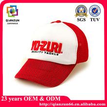 Mesh design 3d emroidery baseball caps and hats
