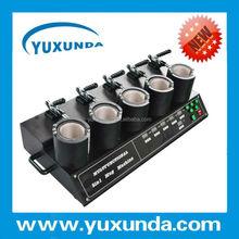 YUXUNDA sublimation 5 in 1 cone mug electronics heat press machine