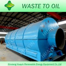 continuous tyre pyrolysis to fuel oil production line