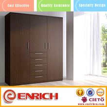 Melamine customized diy home use bedroom wardrobe furniture for sale