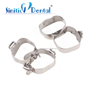 Sinitic Dental high quality orthodontic molar band pre-weld with triple roth buccal tube