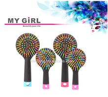 My girl 2015 hot sale weave clear handle hair brush