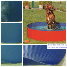 .8mm thick Waterproof PVC Plastic Swimming Pools for Dogs Plastic