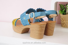 Latest fashion sandals woman shoes lady footwear