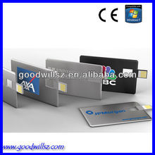 promotional gift usb stick-Card USB flash drive with fully color printing from $1