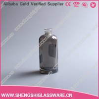 30ml cheap gray glass bottle for perfume with sprayer and cap