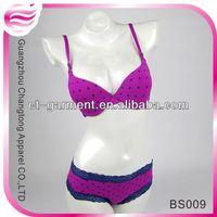 Professional female favor sexy triumph bra sets(BS009)
