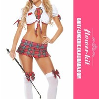 Seductive School Girl Costume Sexy Adult Costume Outfit halloween costumes for women