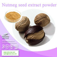 ISO& KOSHER --Nutmeg seed extract powder // Nutmeg seed p.e.