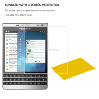 Thin High Clear Screen Protector LCD Film For Blackberry Silver Edition