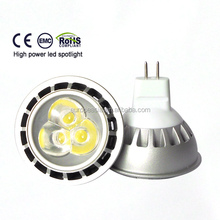 LED Spot MR16 3X1w 12VDC 25degree mr16 led light 12v led