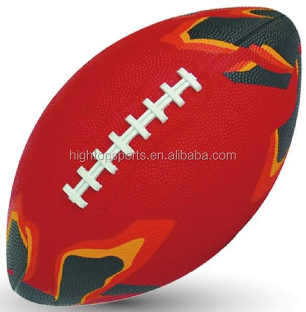 ขนาด1,3,6,7,9ยางอเมริกันฟุตบอลสำหรับโปรโมชั่น/ขายส่งยางรักบี้