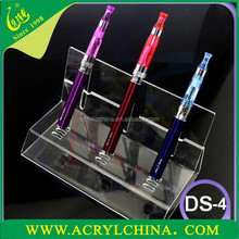 Factory price Clear Acrylic E cigarette display stand /cigarette sales rack