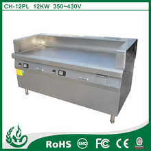high quality stainless steel commercial electric grill for kitchen
