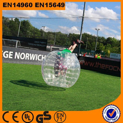 different sizes pvc inflatable bubble ball