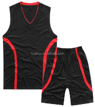 Sublimated dry fit Basketball Uniform & reversible basketball jersey