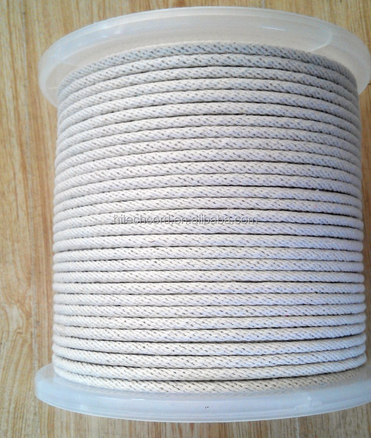 solid braided cotton rope (2)