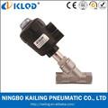 Kljzf-50 2 pulgadas doble efecto normalmente cerrado neumático y la válvula de vapor