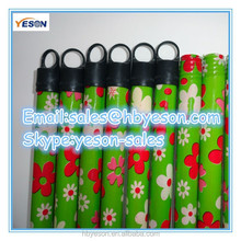 lower price 1200*25mm pvc coated wooden broom handle