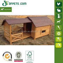 DFPETS DFD3012 Large Wooden Dog House With Porch