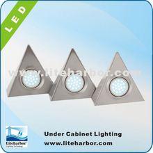 China Manufacturer 4.5W 3 Piece Triangular china made energy saving G4 led puck light price