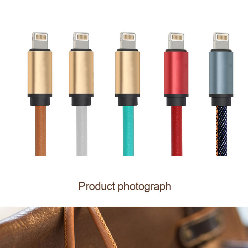 Fast charging factory supply soft flat braid usb cable