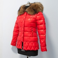Factory direct sales heating winter down coat for women